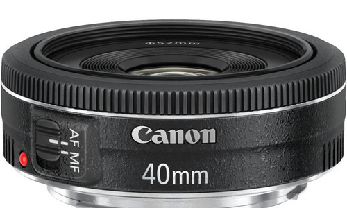 Win A Canon EF 40mm F/2.8 Lens With Canon Watch And Lockerdome