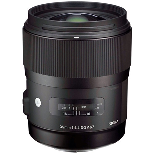 Sigma 35mm f/1.4 DG HSM Lens for Canon In Stock