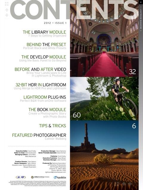 Lightroom Magazine For iPad