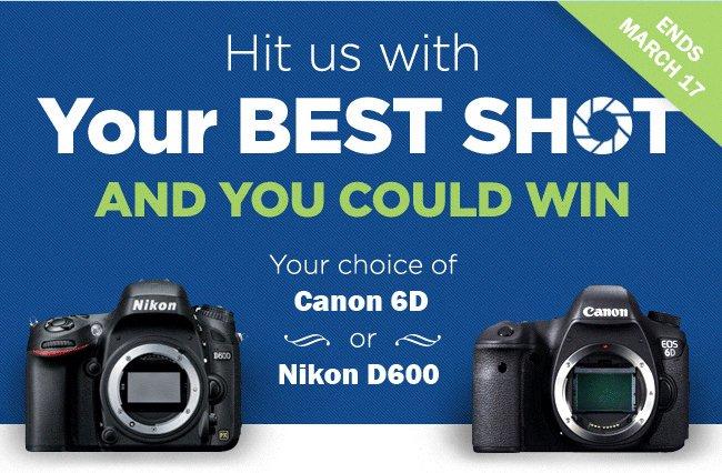 Win A Canon EOS 6D