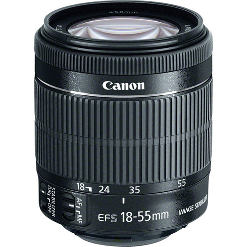 EF-S 18-55mm f/3.5-5.6 STM IS