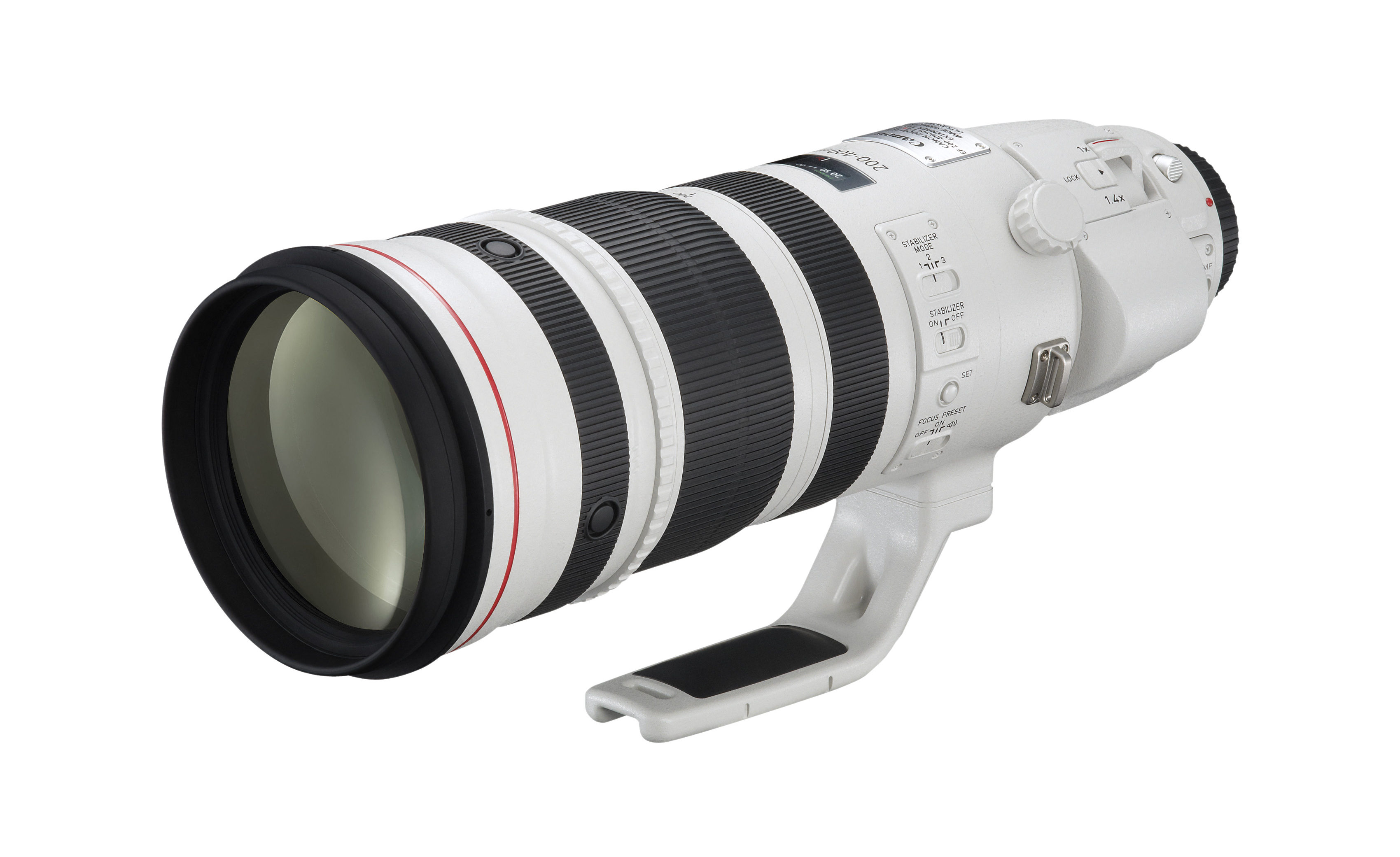 Three Lenses in One: Canon Patents 400mm Lens with 2 Extenders Inside