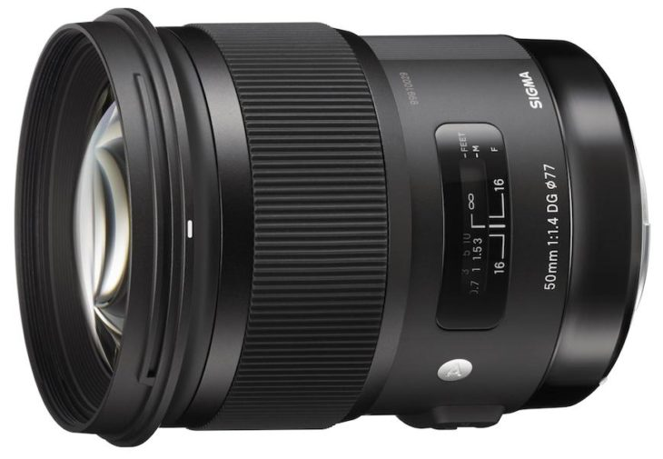 "Sigma 50mm F/1.4 DG HSM ""Art"" Lens Deal – $699.99 (US Warranty, Authorised Sigma Dealer, Compare At $849)"