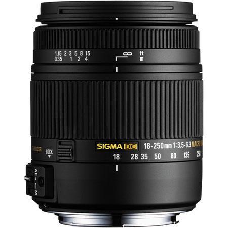 Sigma 18-250mm f/3.5-6.3 DC Macro OS