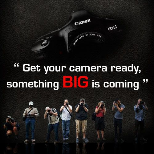 Canon India Teaser For