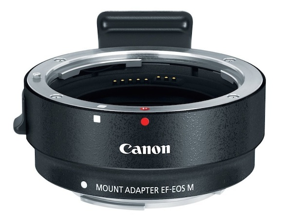 Canon EF/EF-S to EF-M Adapter