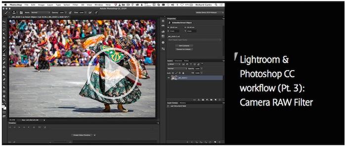 Lightroom & Photoshop CC Workflow
