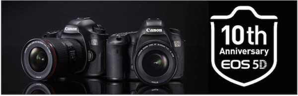 Canon Digital Learning Centre Posts Long Series Of Articles For EOS 5D Series 10 Year Anniversary