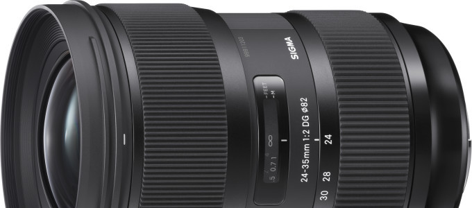 "Sigma 24-35mm F/2 DG HSM ""ART"" Deal – $880 (reg. $999)"