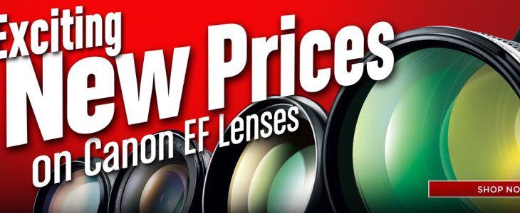 Canon Direct Store Adds Many Refurbished Lenses To Stock