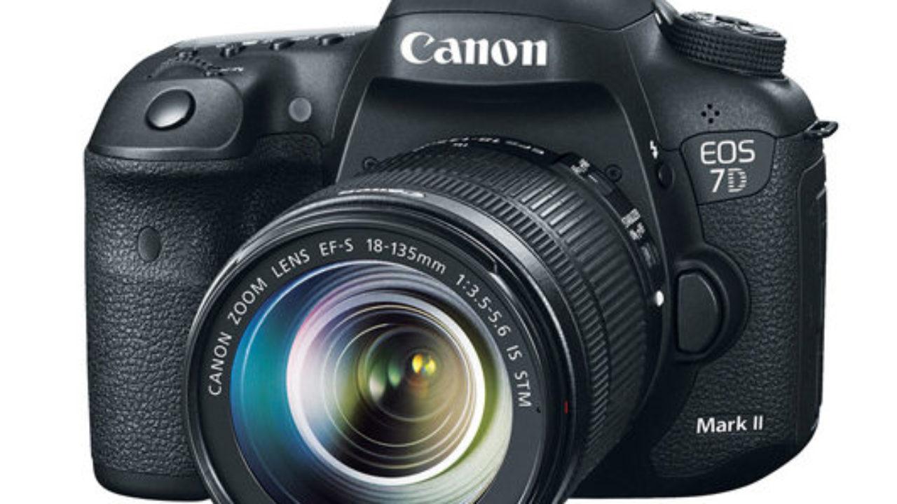 Canon EOS 7D Mark II refurbished – $999 (reg  $1,499