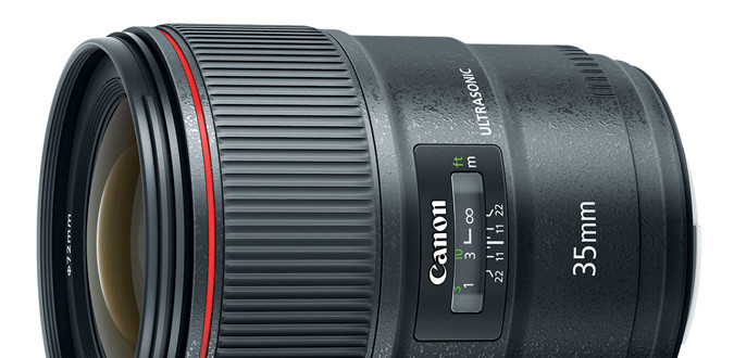 Canon EF 35mm F/1.4L II Officially Announced
