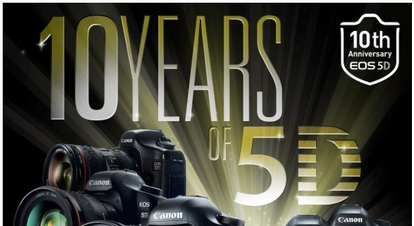 Canon EOS 5D 10 Years Anniversary Open House In San Francisco (August 22)