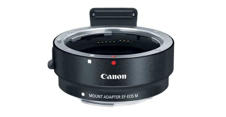 Canon EF-M Lens Adapter Deal – $31 (compare At $70, White Box)