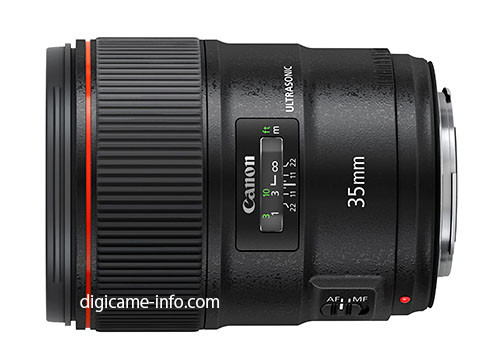 Canon EF 35mm F/1.4L II Image And Specs Leaked, Announcement Soon [CW5]
