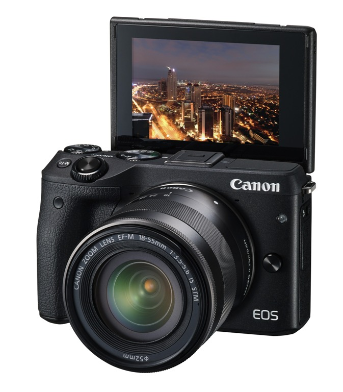 Canon EOS M3 With 18-55mm IS STM Deal – $419 (reg. $549, Import Model)