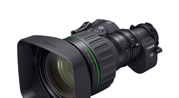 Canon Developing Portable Zoom Lens For 4K Broadcast Cameras