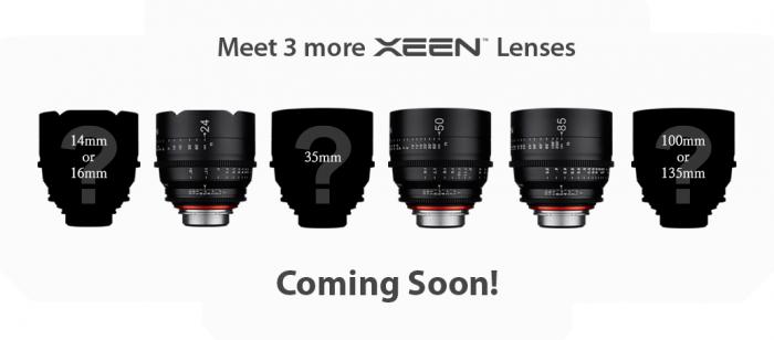Xeen Three More Lenses 0