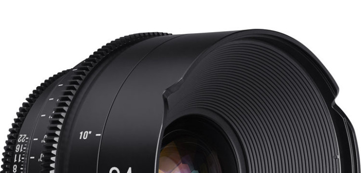 Samyang/Rokinon XEEN 24mm, 50mm And 85mm Cine Lenses Available For Pre-order ($2,495)