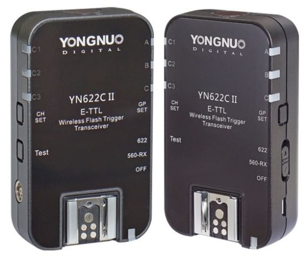 Yongnuo Released YN622C II Wireless TTL Flash Trigger ($85)