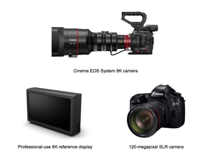 More Innovation By Canon: 8K Video Camera And EOS DSLR With 120MP (development Announcement)