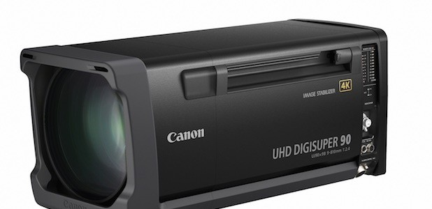 "Canon Launches Two High Performance 2/3"" 4K Field Broadcast Lenses, The UHD DIGISUPER 90 And UHD DIGISUPER 86"