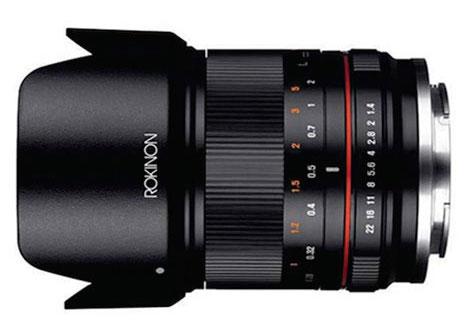 Rokinon 21mm f/1.4