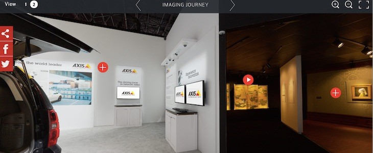 Canon Expo 2015 Interactive Virtual Tour