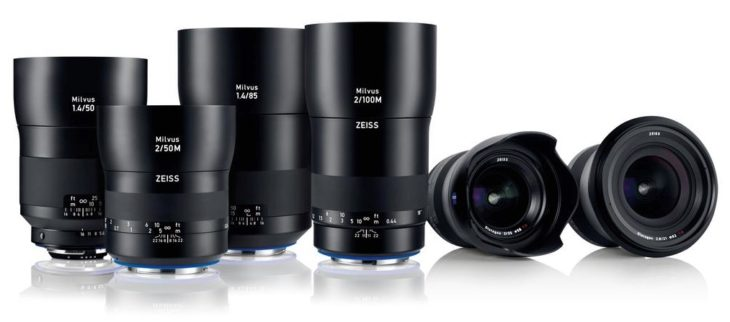Zeiss Announce Milvus Lens Line-up