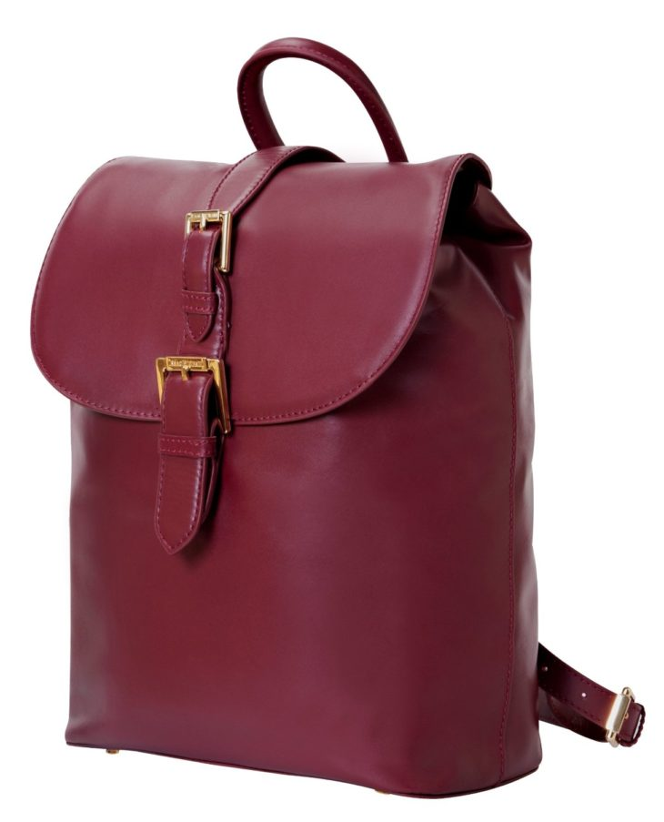 Deal: Isaac Mizrahi Kathryn Mini Camera Backpack In Genuine Leather At $43 (reg. $299)