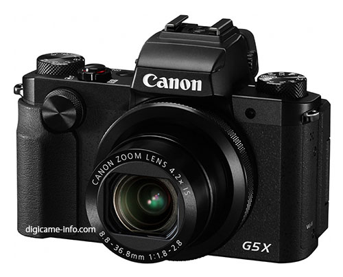 New Canon Powershot G5 X Images And Full List Of Gear Canon Is Going To Announce