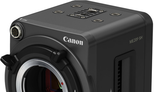 Canon ME20F-SH Ships In December In USA, Sells At $19,900 (will Be Available In Europe February 2016)