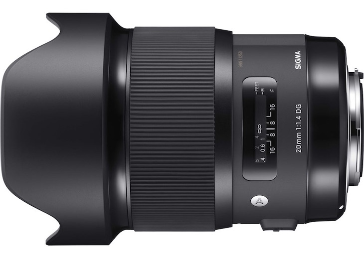 Sigma 20mm F/1.4 DG HSM Art Lens In Stock And Ready To Ship At $899