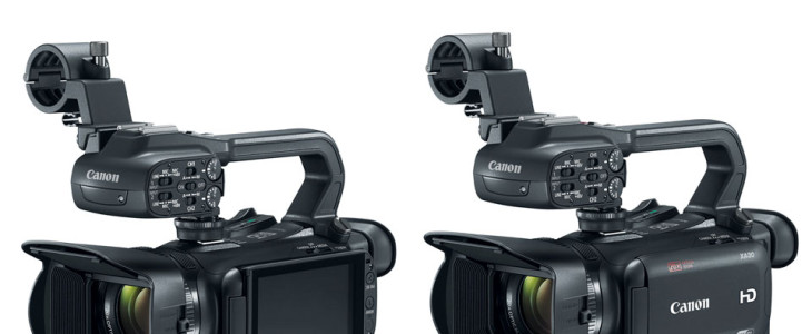 Canon Unveils New Canon XA35 And Canon XA30 Professional Camcorders