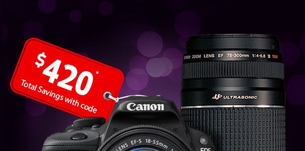 Cyber Monday In November By Canon Store, Take 3 (SL1 At $280, 7D2 At $999, More Good Deals)