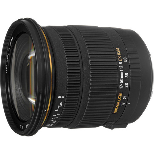 Sigma 17-50mm F/2.8 EX DC OS HSM Deal – $399 (reg. $669, And More Deals)