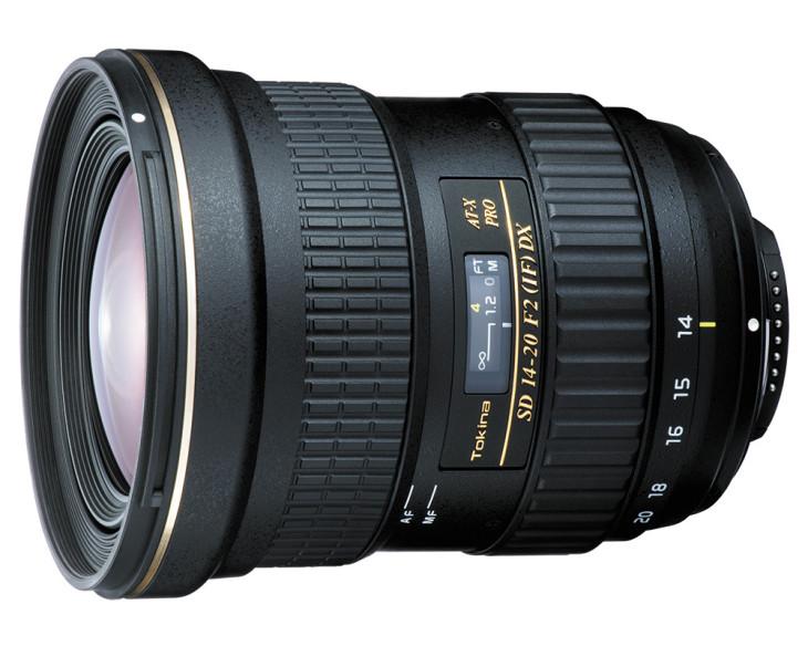 Tokina Unveils AT-X 14-20 F2 PRO DX Lens For APS-C DSLRs