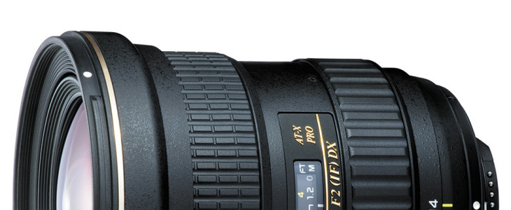 Tokina Unveils AT-X 14-20 F2 PRO DX Lens For APS-C DSLRs
