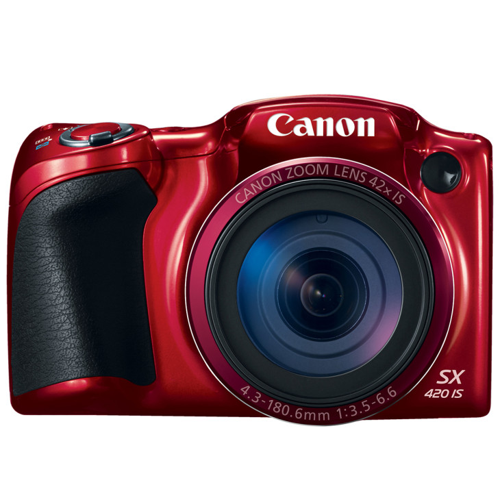 Powershot Sx420is Red Front HiRes