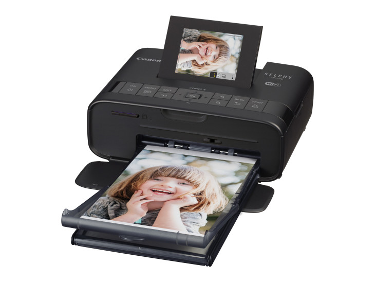 Canon Unveils SELPHY CP1200 Wireless Compact Photo Printer