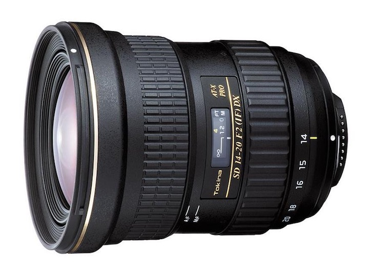 Tokina 14-20mm F/2.0 AT-X Pro DX