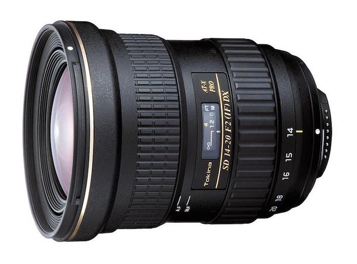 Tokina 14-20mm F/2.0 AT-X Pro DX