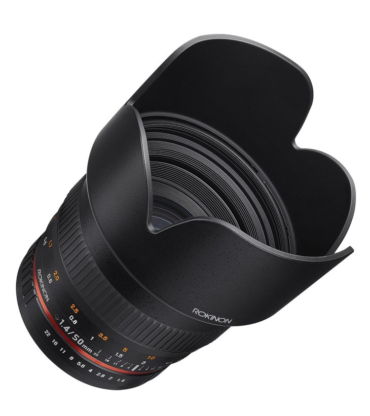 Rokinon 50mm F/1.4 AS IF Lens Price Drop, $299 (was $399)