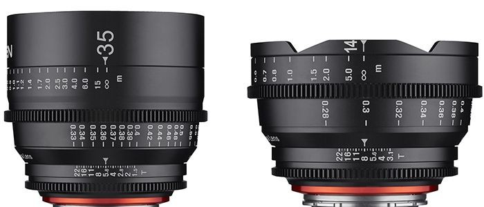 Samyang Announce New XEEN 14mm T3.1 And 35mm T1.5 MFT Lenses