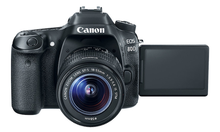 Eos80d Ef S18 135 Top Front Open Lcd