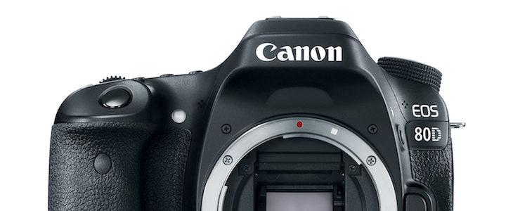 Canon EOS 80D Deal – $899 (reg. 1,199)