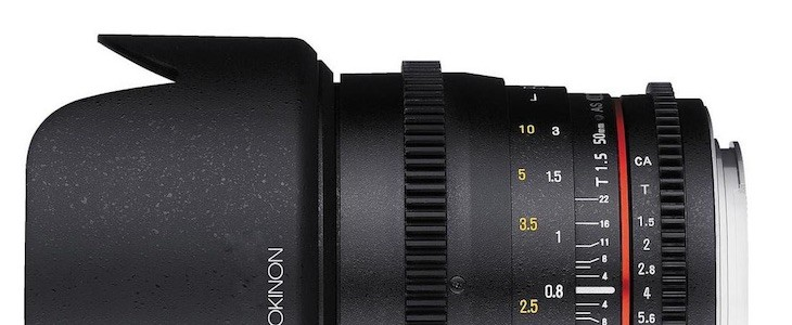 Rokinon 50mm T1.5 Cine DS Lens Deal – $379 (reg. $549)