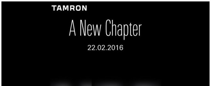 Tamron To Announce Two Prime Lenses (85mm & 90mm) On February 22