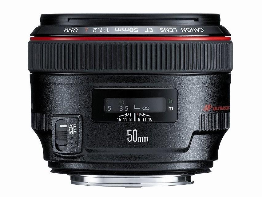 Canon EF 50mm F/1.2