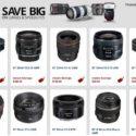 Canon Rebates On Lenses And Speedlites Extended To April